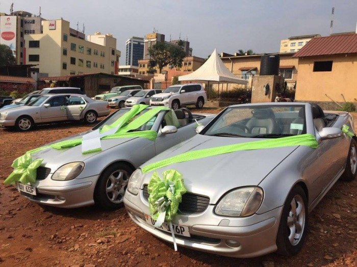 Wedding Car Hire Uganda