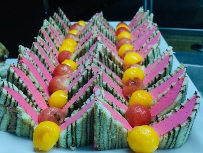 Special dessert served at Speke Resort Munyonyo