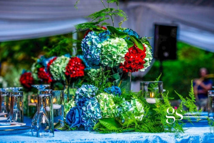 Festo and Bridget's wedding decor by Giselda Sensation