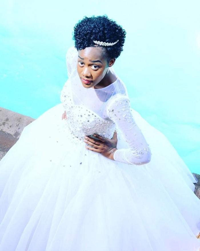 A beautiful bride dressed by TEM Fashion WEAR
