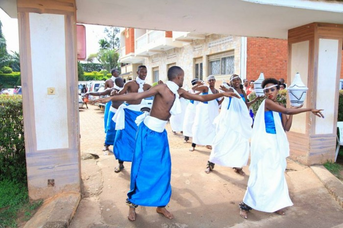 Cultural dancers performing at a Gushaba, photo by Frame Media