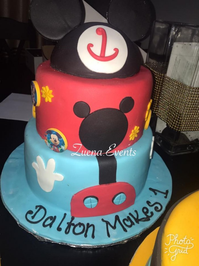 The Mickey Mouse club house Cake By Zuena Events
