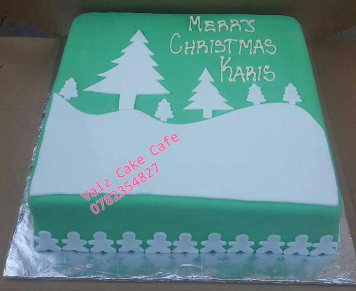 Christmas cake made by Valz Cake Cafe