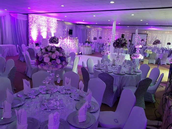 Breathtaking wedding decorations at Rivonia Suites