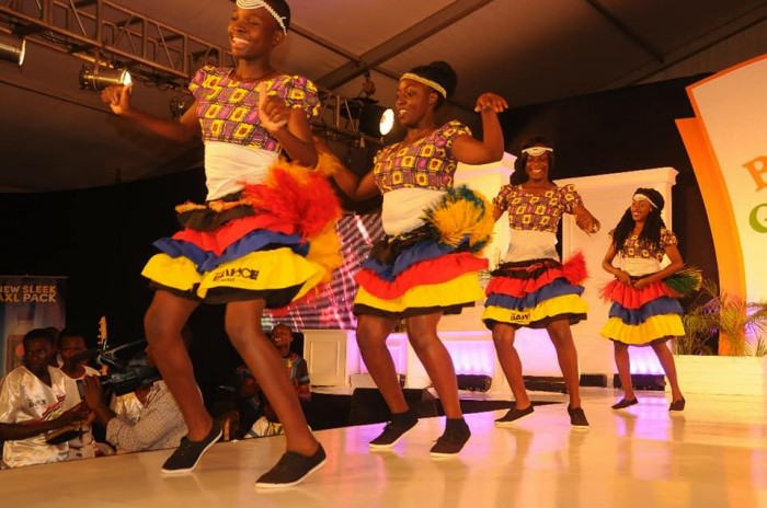 The Dance N' Beats Cultural Troupe entertain exhibitors and guests at the 2017 Bride & Groom Expo, Lugogo