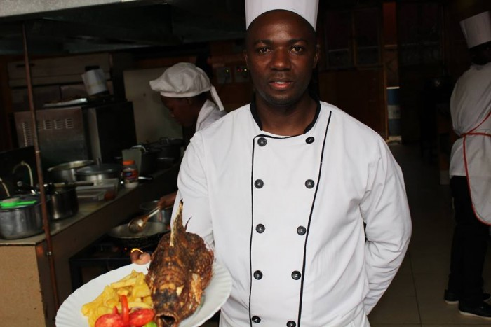 A Chef at Jevine Hotel