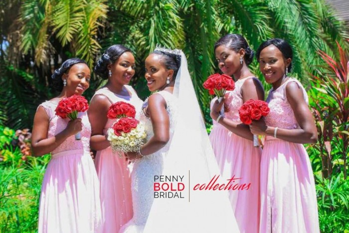 Penny Bold Bridal Collections Gown for Murungi Claire.. I loved the moment