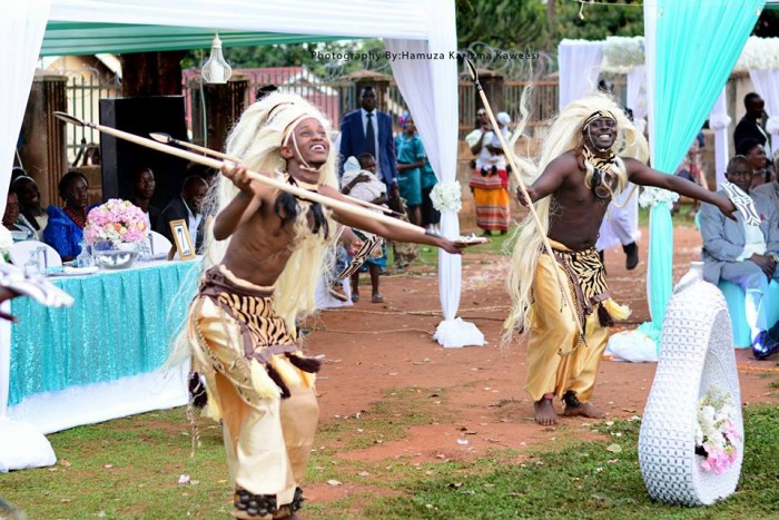 Cultural performers entertain guests at Kweranga/Kujuga ceremony