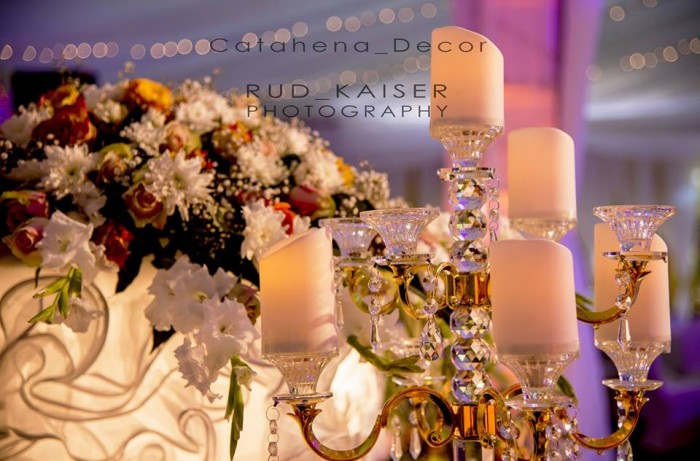 Alex & Irene Wedding Reception Decor