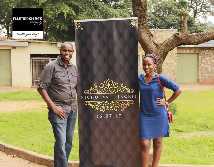 Nicholas and Jackie at their prewedding photo shoot powered by Fluttershots Photography Uganda