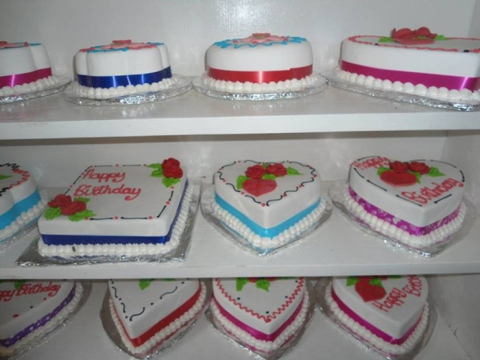 Birthday cakes prepared by New Day Bakery & Catering Services