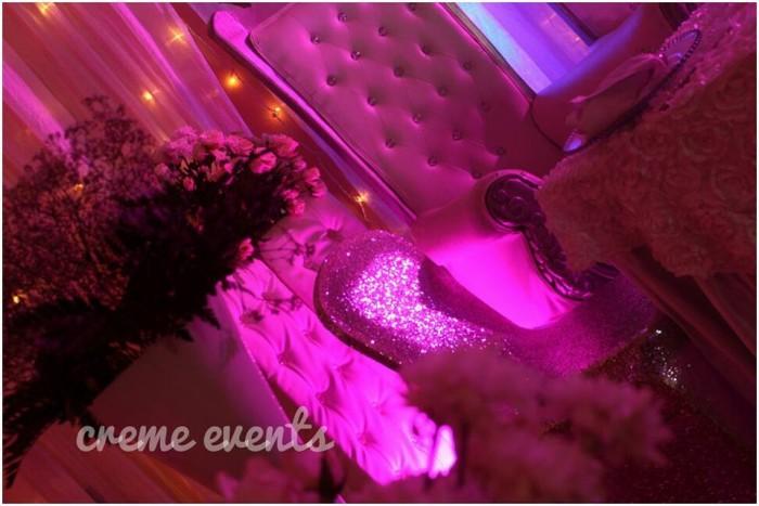 White And Silver Wedding Decor Theme Uganda Mikolo