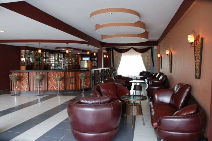 Bar section at Silver Springs Hotel