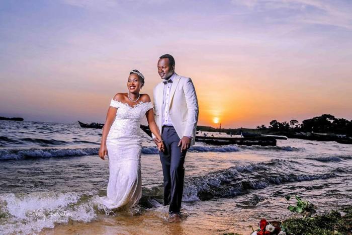 Francis and Dona at their post wedding photo shoot