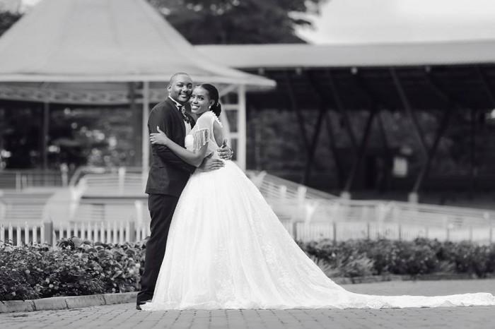 Desmond and Erica at Namugongo Catholic Shrine, powered by MultiWays Photography