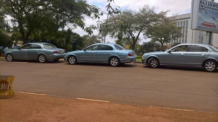 Jaguar bridal car fleet from Jaguar World Services