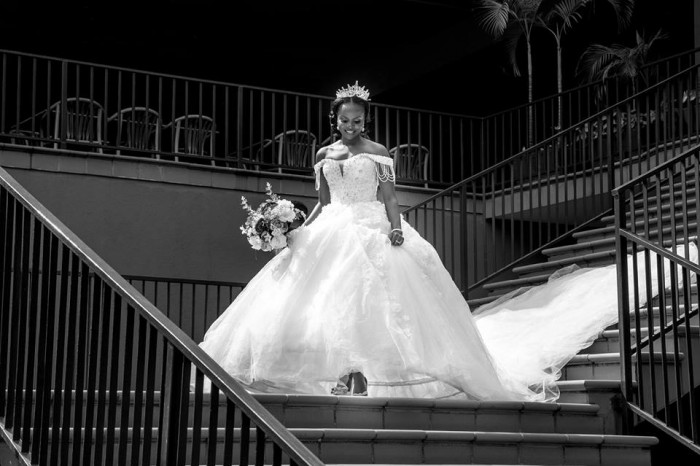 Beautiful Pister on her wedding day with Gerald, shots by Dynamic Wedding Photography