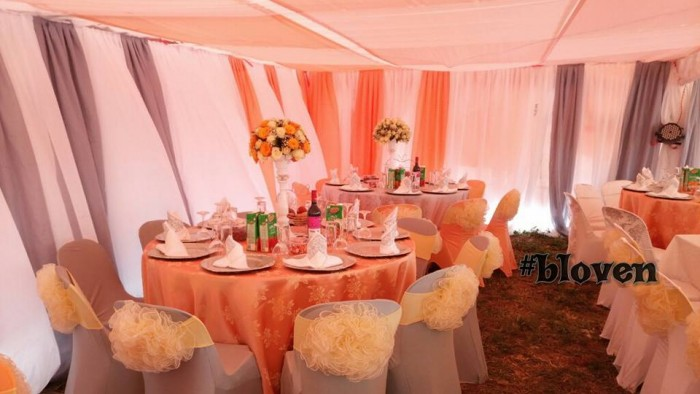 village introduction decor in Mityana By Bloven Events
