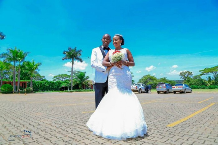 Henry & Peruth at their wedding photo shoot by Events Guru
