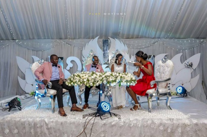 Dastan and Suzan's wedding at Nsambya Gardens, shots by Play Motions