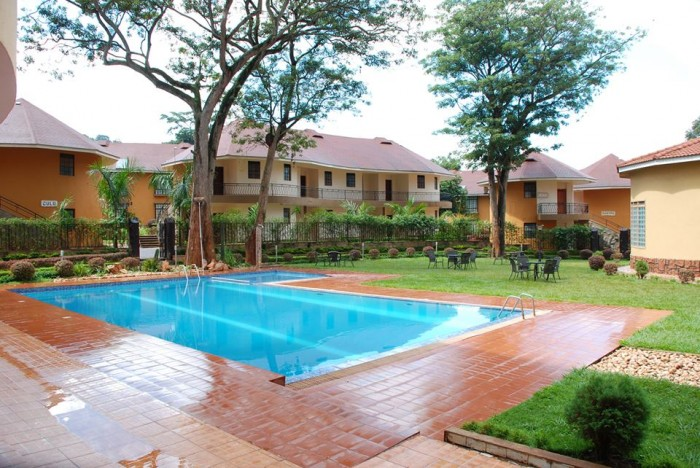 Swimming pool at Silver Springs Hotel
