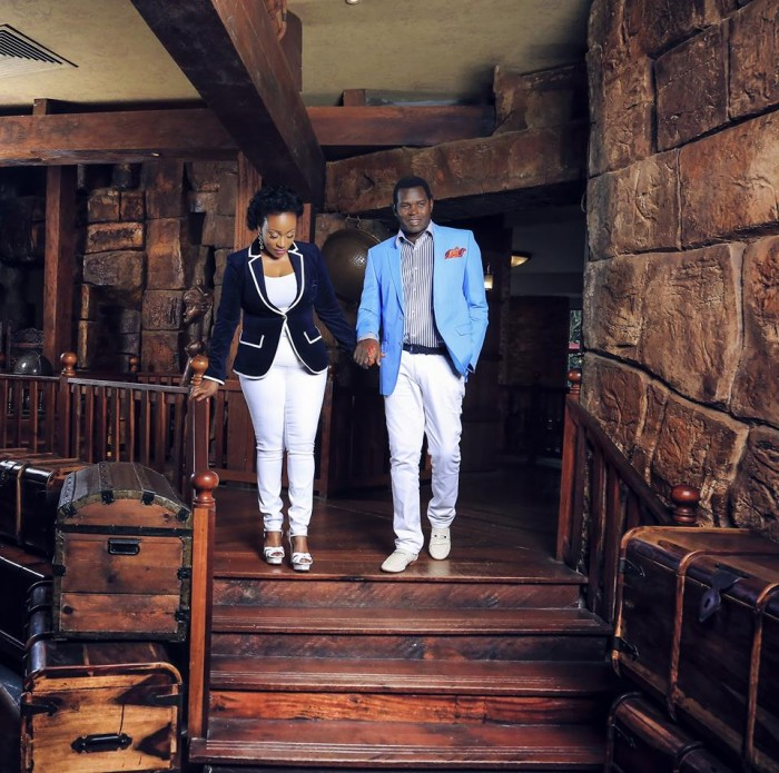 Pastor Robert Kayanja and his wife Jessica at their silver jubilee photo shoot by Oscar Ntege
