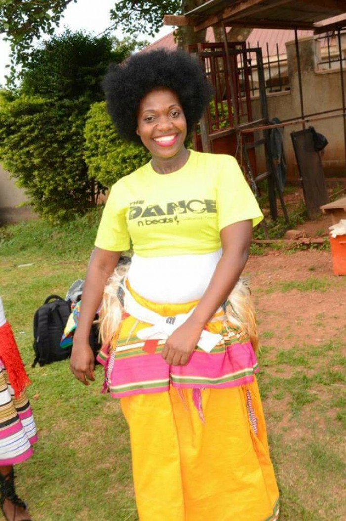 Rebecca Jjingo joins the The Dance N' Beats Cultural Troupe