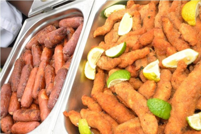 Snack foods with Events Catering Limited