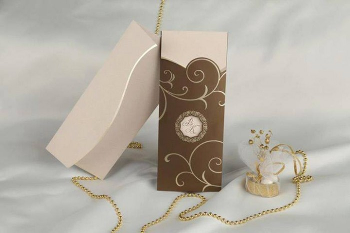 A good wedding invitation card designed by Chic Designs