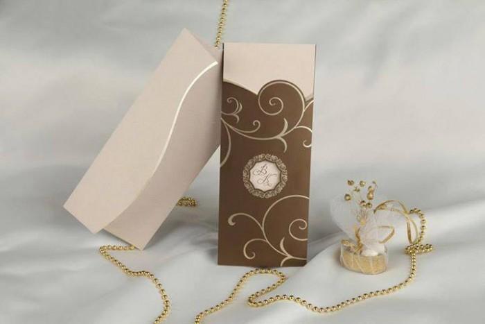 A good wedding invitation card designed by Chic Designs