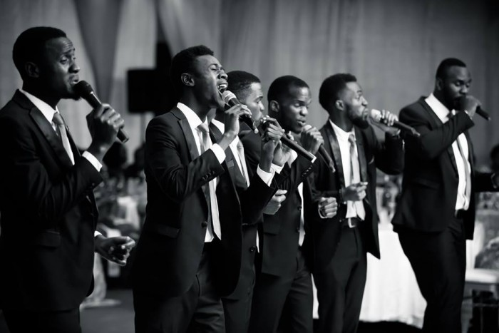 Canaan Gents during a passionate performance on stage