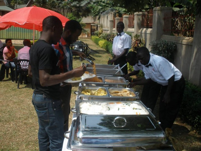 Self service with Events Catering Limited