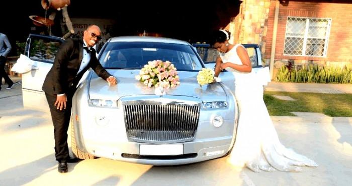 The classic Chrysler - wedding cars