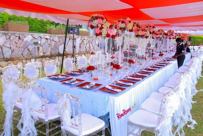 Baptism party decor by Rossy Roots Events