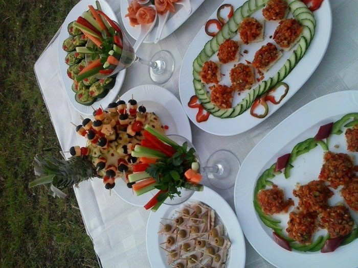 Fruit dessert with Events Catering Limited