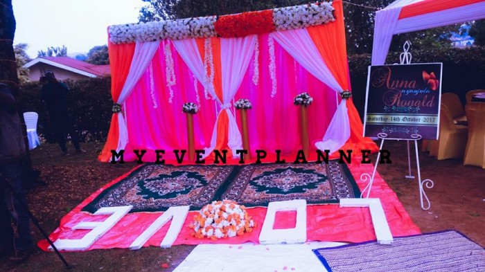 My Event Planner Kwanjula Decoration