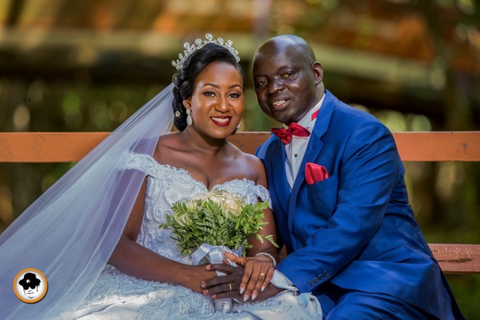 Tadeo weds Lucy at All Saints Church, Nakasero