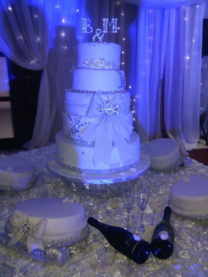 A wedding cakes from Danse Pastries Uganda