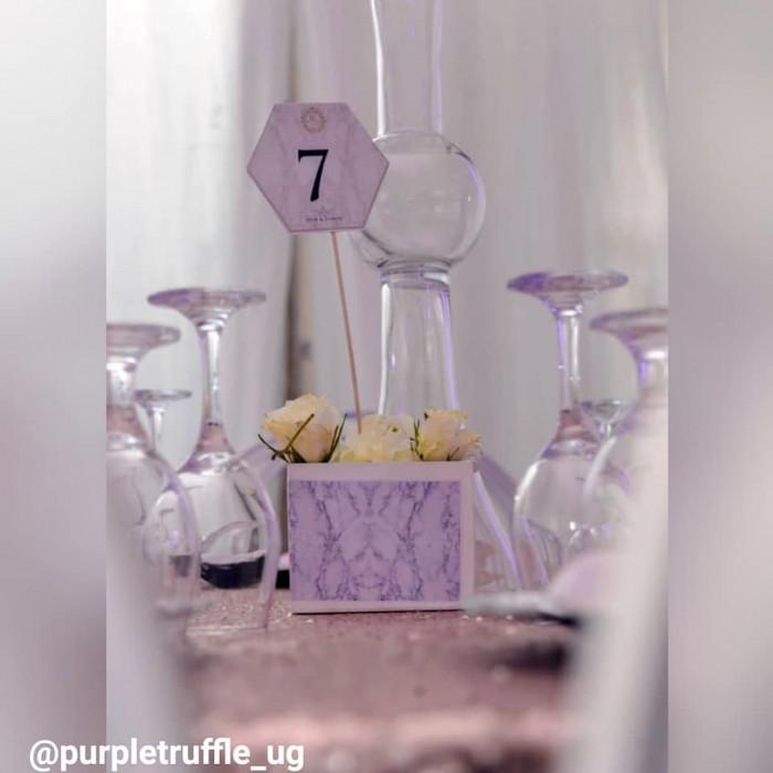Mr and Mrs. Buyondo's fairytale wedding decor