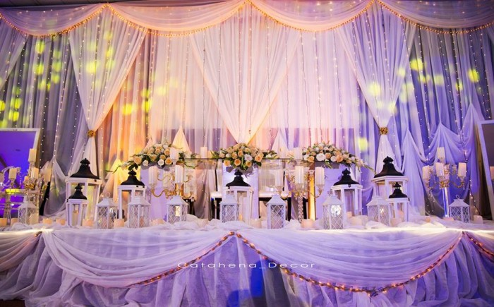 Catahena Decor & Wedding Planners Decor
