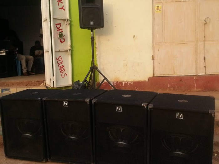 Public Address system from Boss Sounds with Selector Cendrick