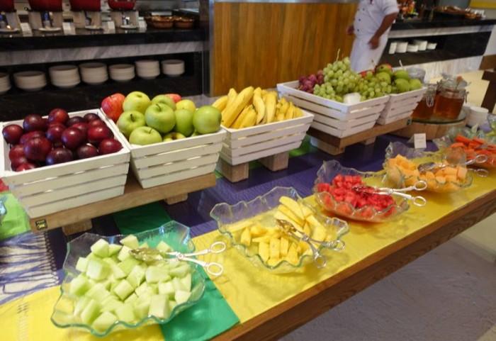 Fruit salads at Hotel International