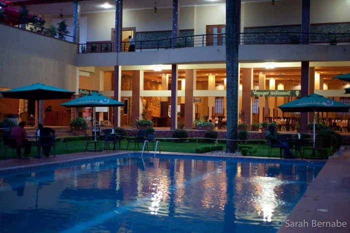 A night impression at Silver Springs Hotel