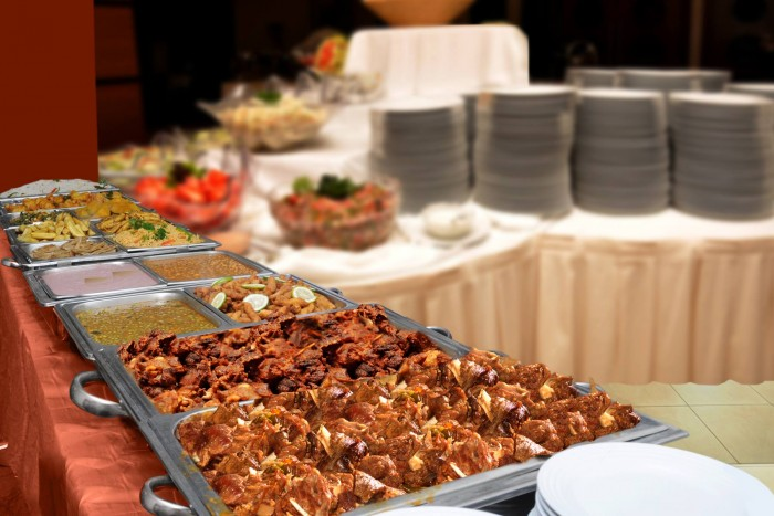 Sumptuous food prepared at Emerald Hotel, Kampala