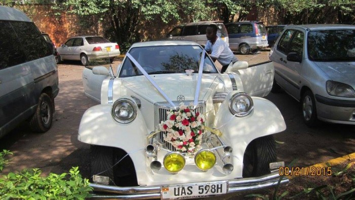 Classic Wedding Cars from Wedding Car Hire Uganda