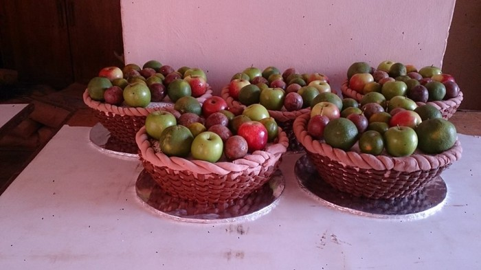 Fruit basket inspired cake by Real Cakes Uganda