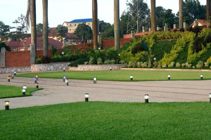 The Spacious green view at Mawanda Royal Gardens