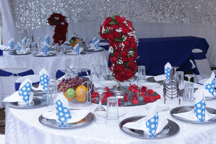 Wonderful decorations done by Blessed HANDS DECOR Services