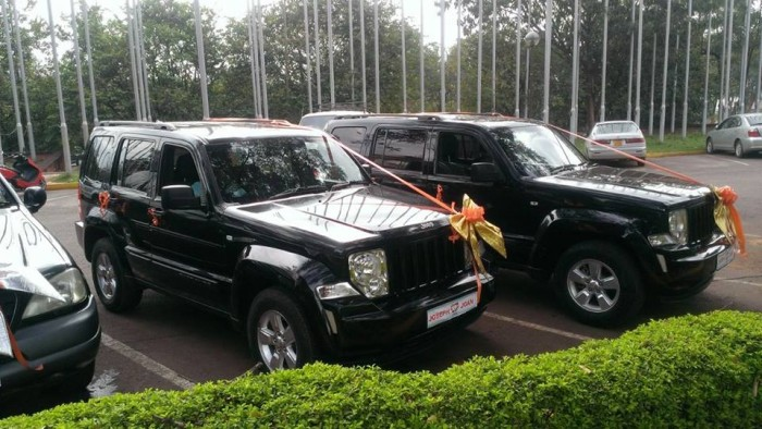 Jeeps for Hire from Prime Rides Events