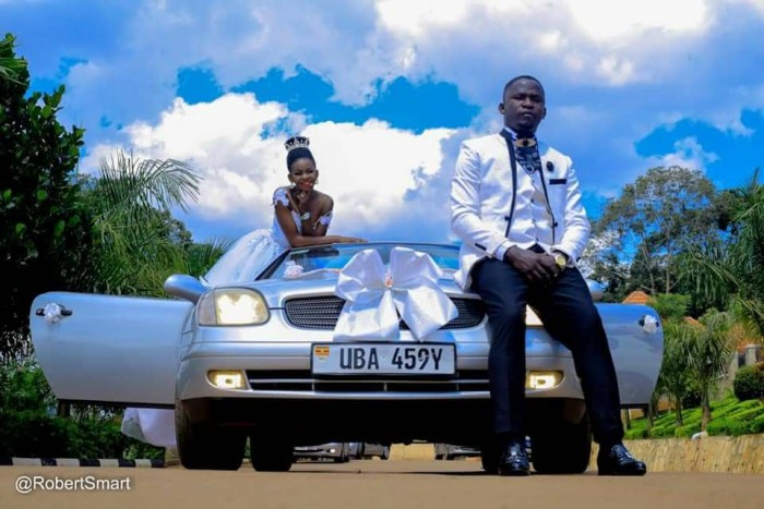 Molly and Simon opted for the Mercedes Benz for their bridal cars